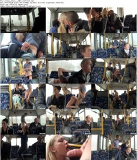 Анальный секс в автобусе!